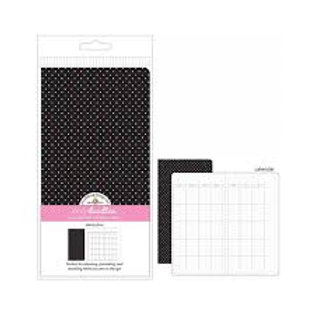 Doodlebu - Daily Doodles - Travel Planner insert - Dainty Dots
