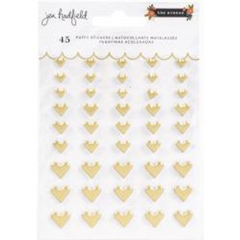 Jen Hadfield The Avenue Puffy Stickers 45/Pkg Hearts