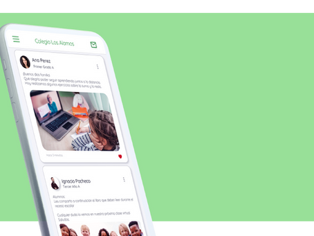 Una App simple y amigable que conecta a tu comunidad escolar