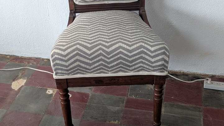Turn of the century chair