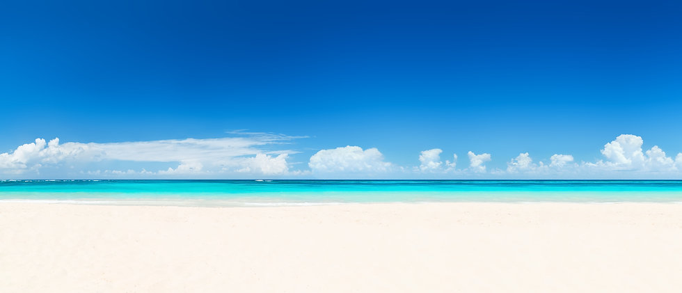 Beautiful Tropical Sandy Beach with Turquoise Water.jpg