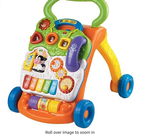 Baby Walker and Interactive Learning Pic