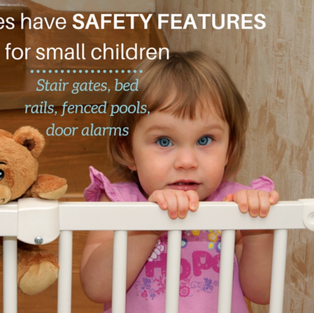 Child Safty Homes - Stair Gates Fenced P