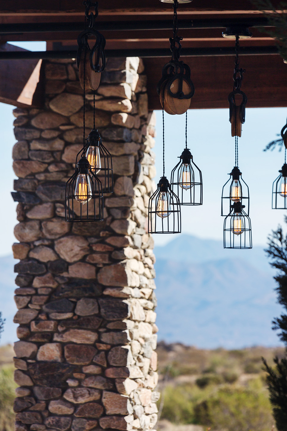 Cantabrica Estates outdoor lighting