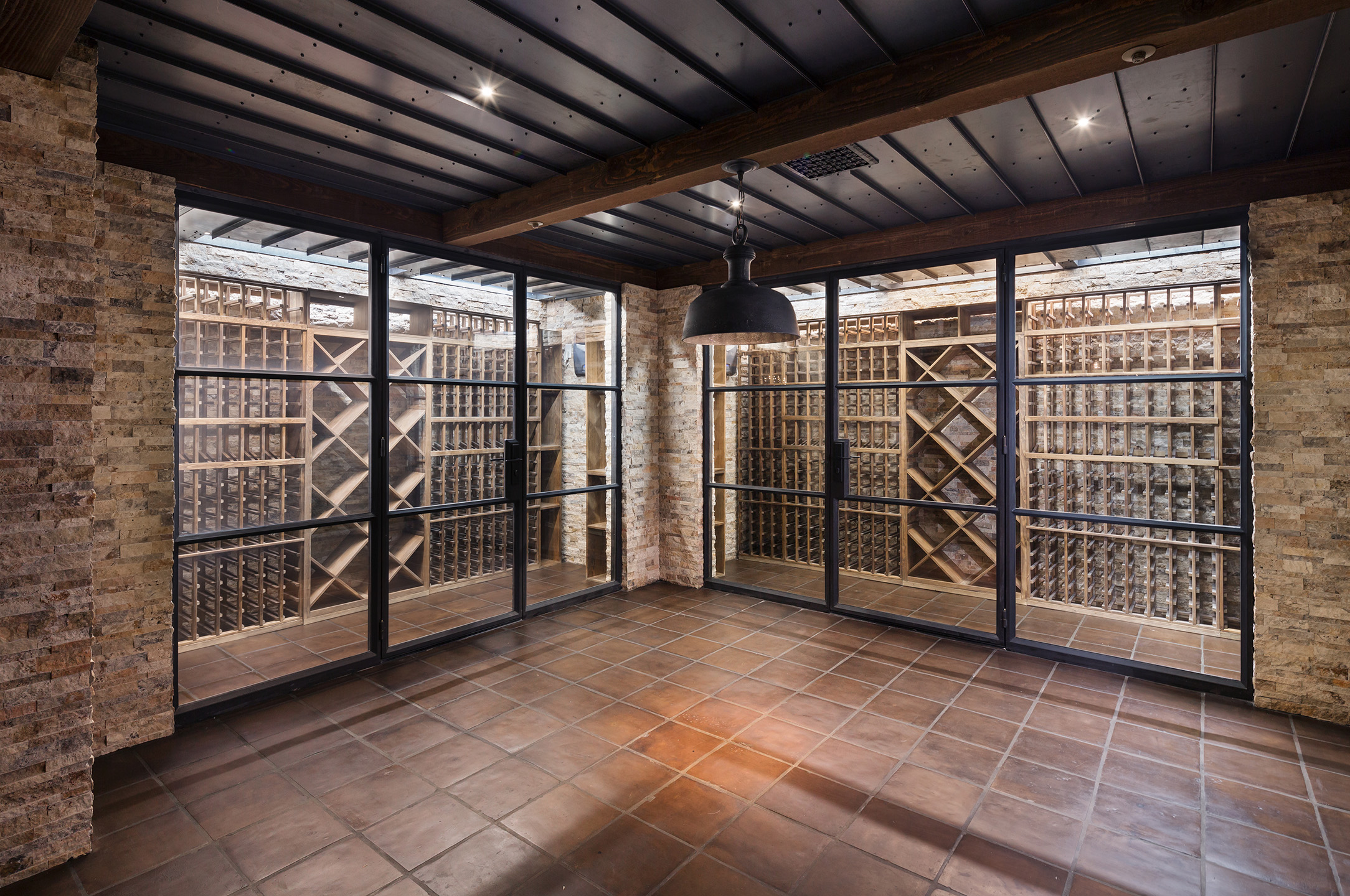 Cantabrica Estates Wine Room