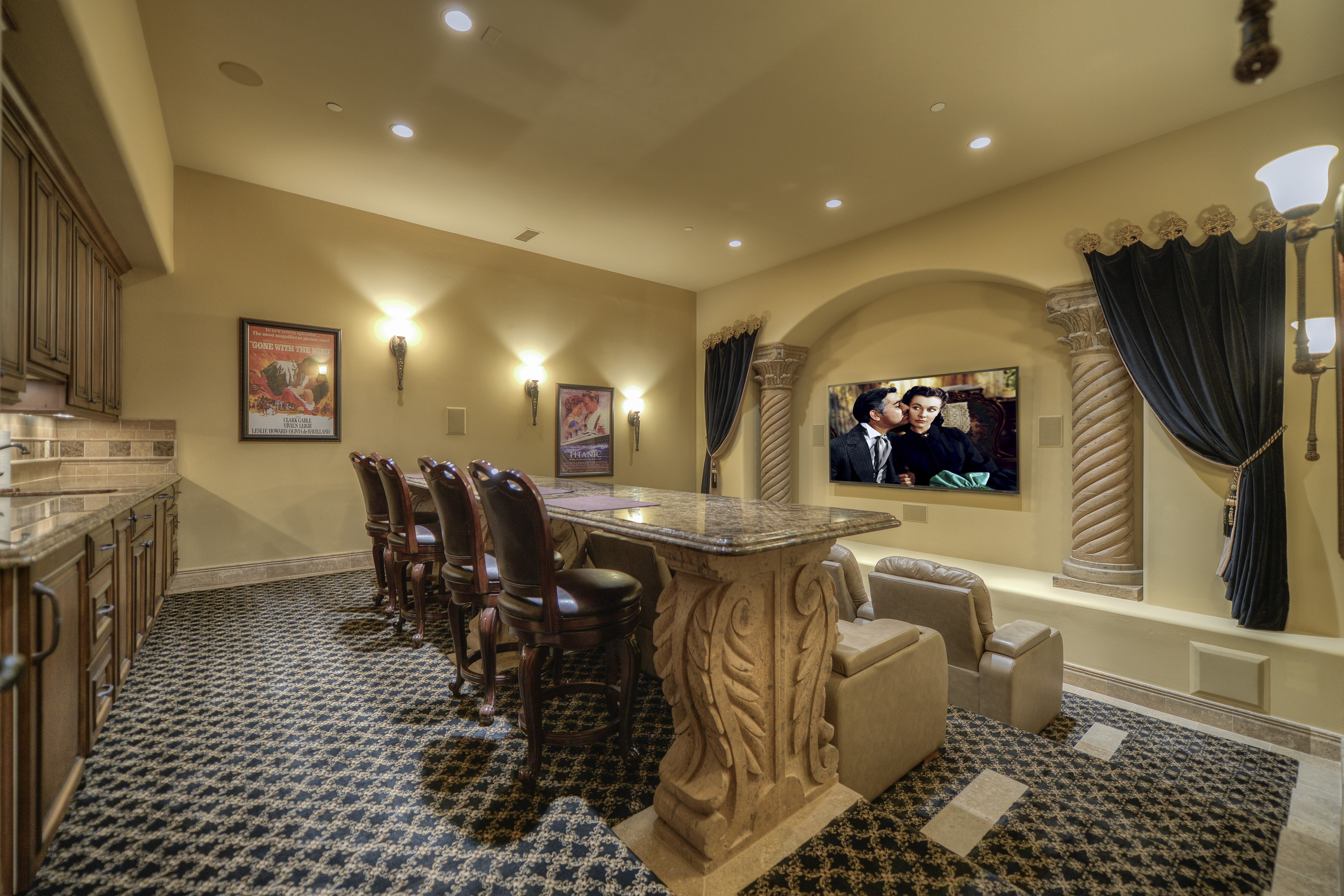 Theater Media Room