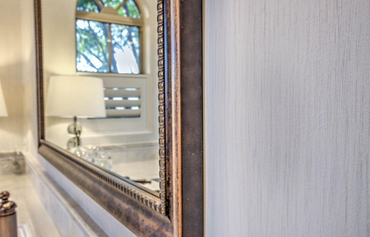 Master Bath Faux Texture Close Up