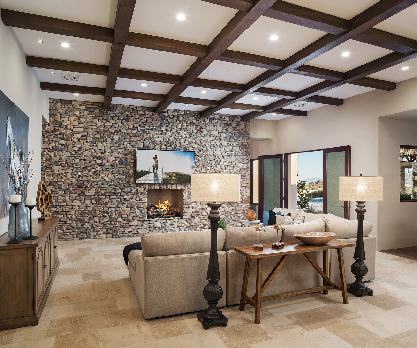 Cantabrica Estates Family Room