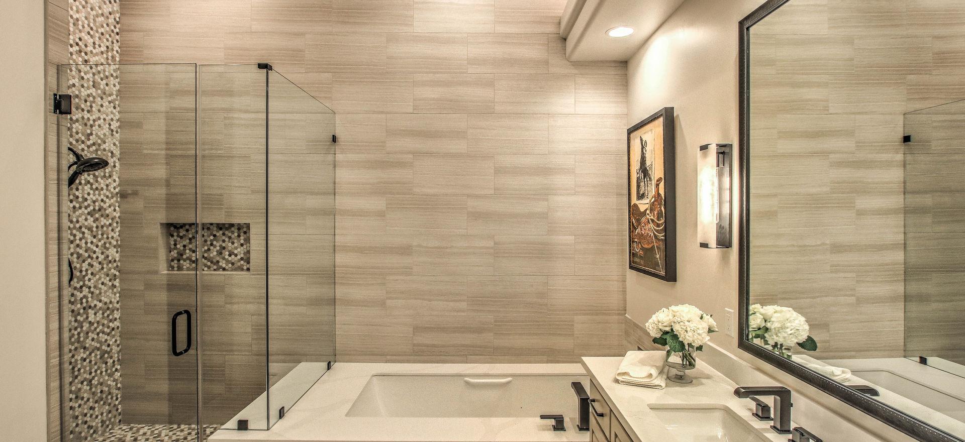 DC RANCH CONTEMPORARY BATHROOM RENOVATION