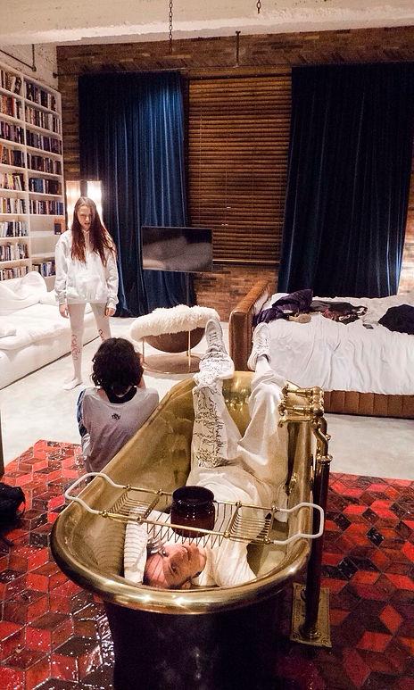 Shooting at Stamba Hotel for Tamra Tiger