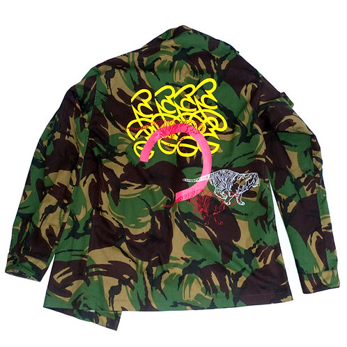 """Tamra Tigers"" - Military Jacket. Unique Item"