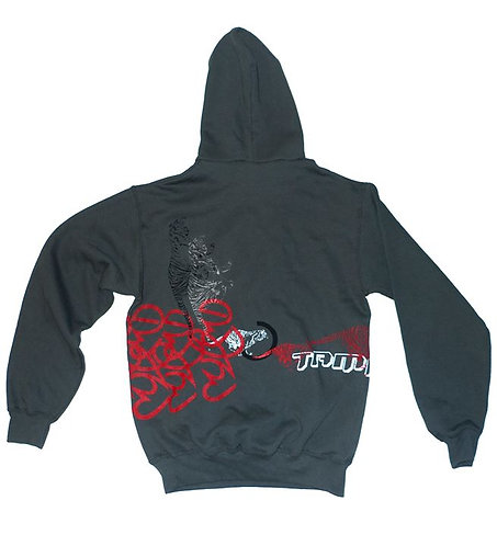 """Tamra Tigers"" - Light Graphite Hoodie"