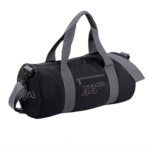 Duffle Bag Black and Grey