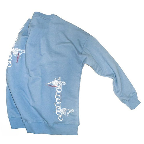 """Tamra Tigers""  - Powder Blue Sweatshirt"
