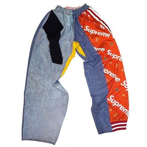 TAMRA - Reconstructed Supreme x Louis Vuitton Pants