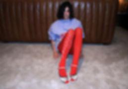TBA Natalia Beridze wearing Tamra Tigers Tights