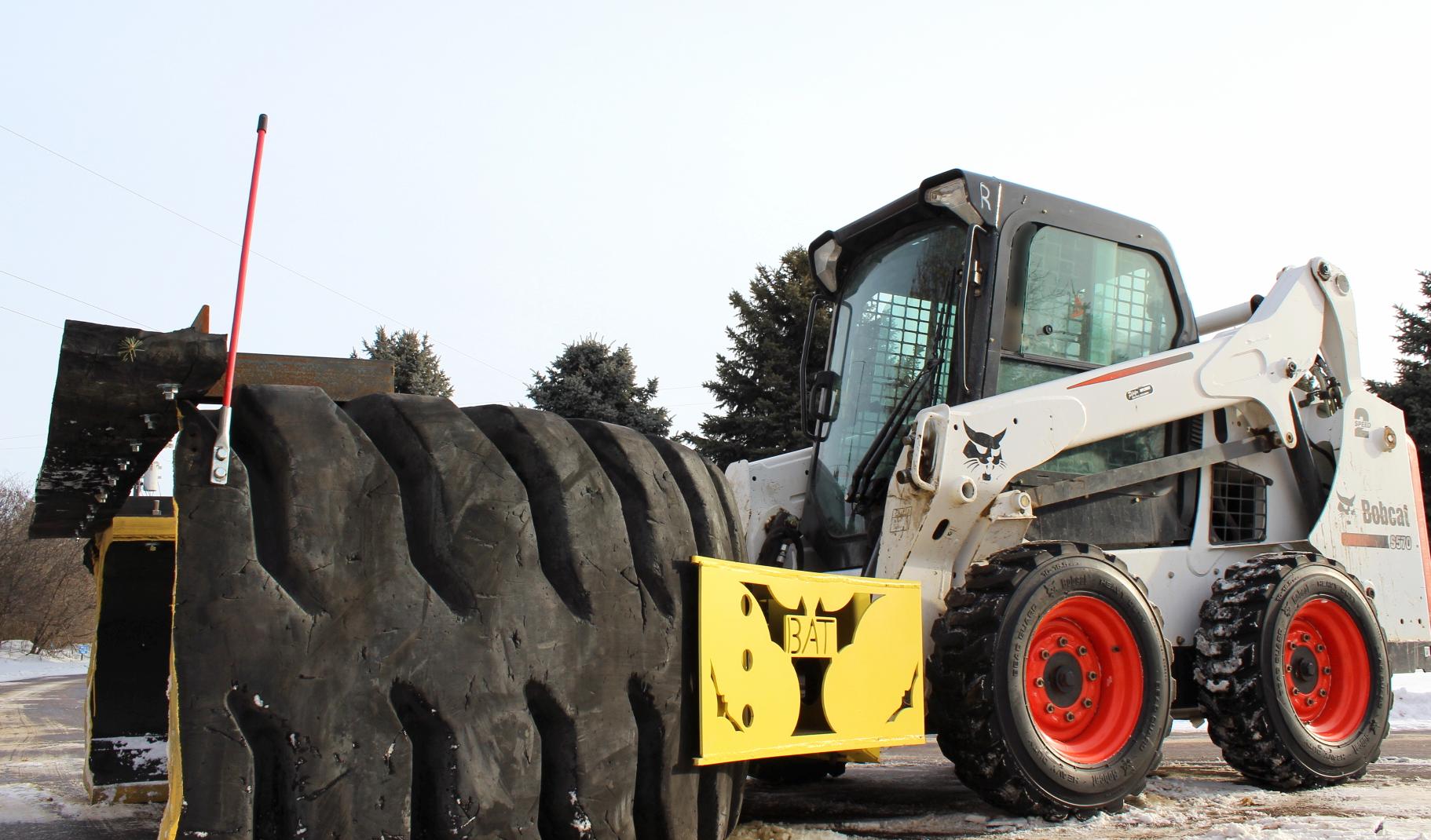 Tire Plow SnowDozer B.A.T.