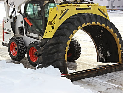 Tire Snow Plow B.A.T. Drag