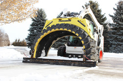 Tire Plow - B.A.T. Drag System
