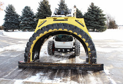 Tire Snow Plow B.A.T. Drag System
