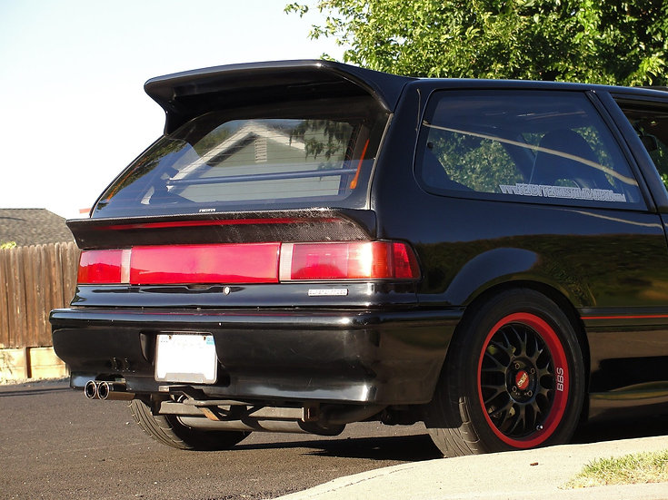 88-91 Civic HB Solid Deck Mid Wing