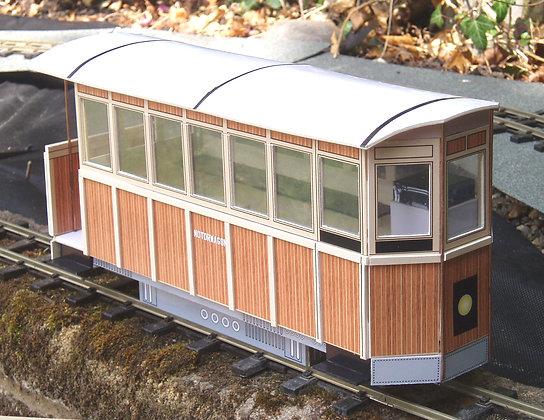 Motorwagon Railcar kit