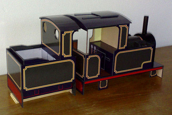 'Titch' with matching cab tender