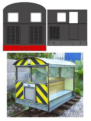 Sentinel style Wickham Trolley
