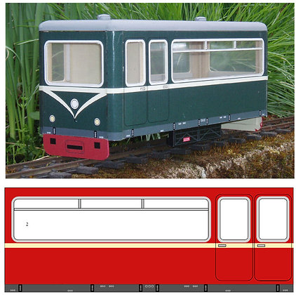 NEW! Railcar Body kit