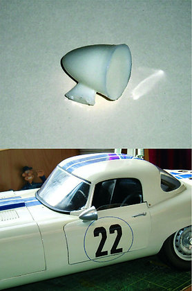 1/8 scale bullet door mirrors