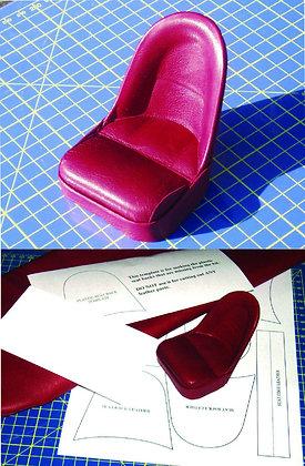 Real leather seat kit 1/8 E Type Jaguar