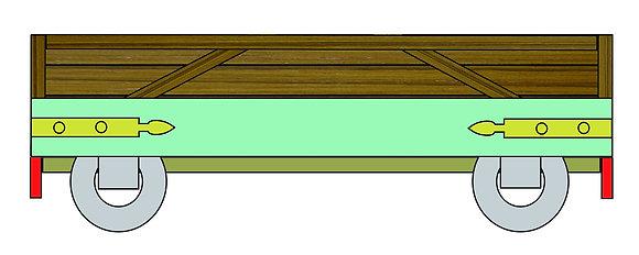 Ivor flat wagon body kit