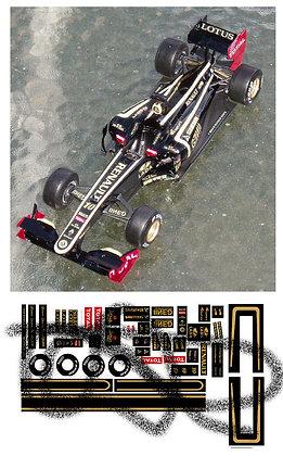 Lotus F1 conversion decals