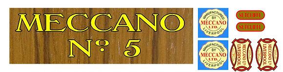 Meccano badges