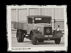 Schlotterbecks erster Mercedes Typ Lo 2000