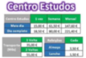Preços Centro Estudos Bigfun