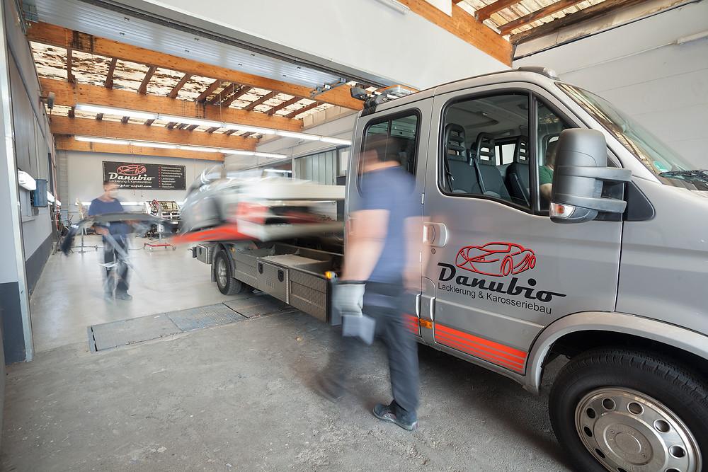 Unfall-Service und Fahrzeuginstandsetzung