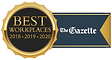 Davidson received Best Workplaces Certified from The Gazette
