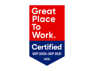 Davidson Earned Designation as a Great Place to  Work-Certified™ Company in 2020
