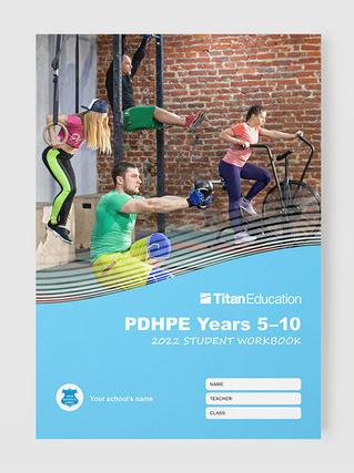 Customise PDHPE workbooks