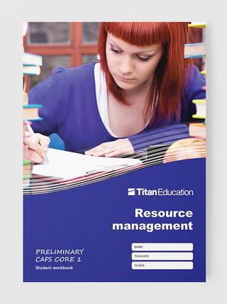 Preliminary CAFS workbooks