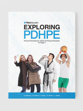 Exploring PDHPE Stage 4 textbook