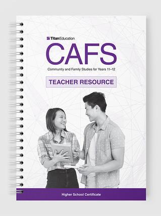 HSC CAFS Teacher Resource
