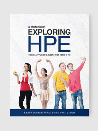 Exploring HPE Years 9–10 textbook