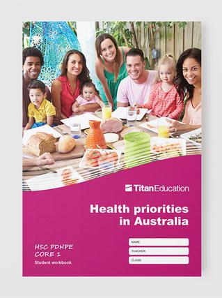 HSC PDHPE workbooks