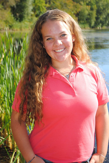 Senior Picture at Hopedale Pond (Hopedale, MA)
