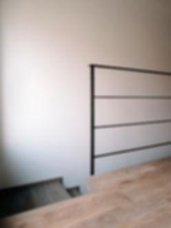 gagno officina fabbrile arredamento treviso ferro legno parapetto corten cor ten ruggine moderno leggero economico