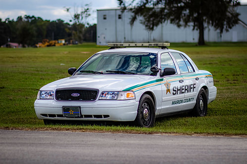 Marion County Sheriff Police - Crown Victoria