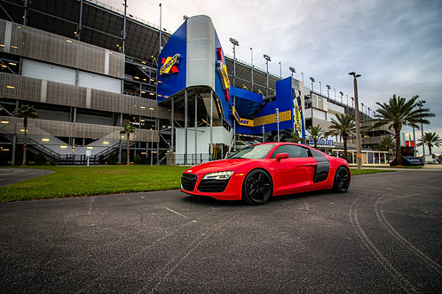 Audi  R8 - Daytona International Speedway