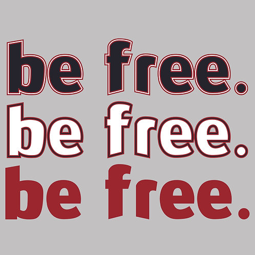 be free - decal